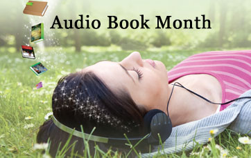 June is Audio Book Month